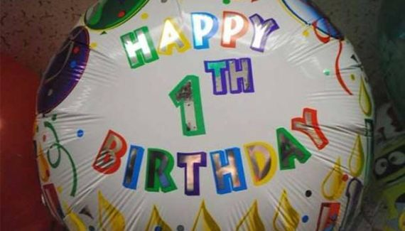 27 You Had One Job Fails ~ Happy 1th Birthday Balloon