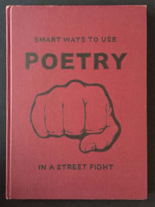 funny books ~ smart ways to use poetry in a street fight