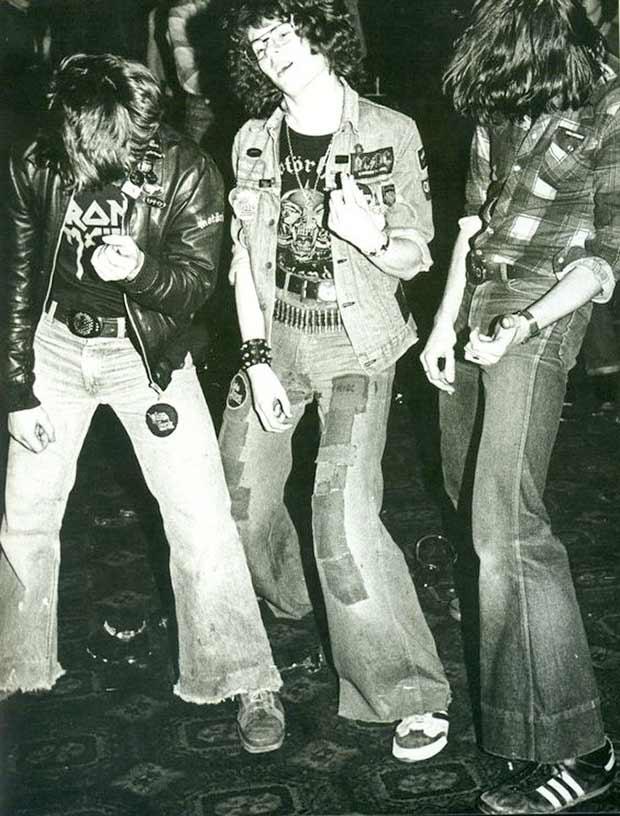 1980s teen metal rockers