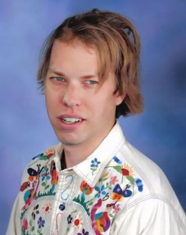 """Brad Keselowski, 11th grade... few knew his """"burn out"""" status at Rochester High would lead to victory lane ~ funny nascar yearbook photos"""