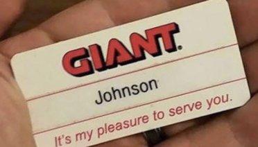 Best Name Tage Fail Ever! ... Giant Johnson ~ 35 Funny Pics & Memes