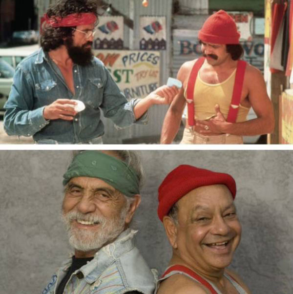 Cheech and Chong then and now ~ 35 Funny Pics & Memes