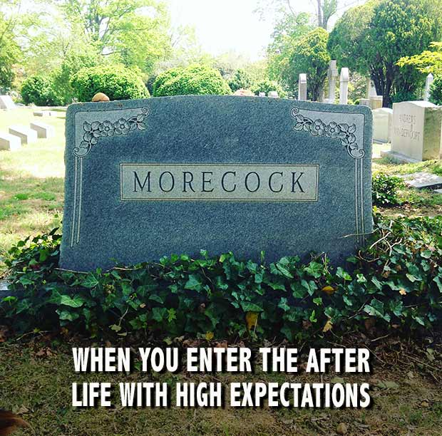 Funny Tombstone ~ Morecock ~~ 35 Funny Pics & Memes
