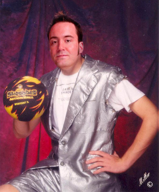Paul Menard ~ As his senior pic proves, you don't have to dress down to be a killer dodge ball sniper ~ funny NASCAR yearbook photos