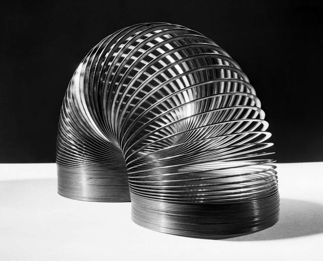 In 1955, a slinky would have cost you one dollar. It was a lot back then but worth it!