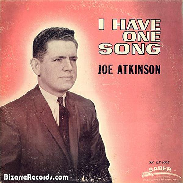 You need a whole album for that? ~~Joe Atkinson One Song ~~ The Worst Bad Album Cover Art