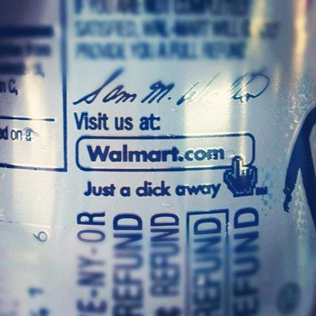 It's true! I've been to Walmart!