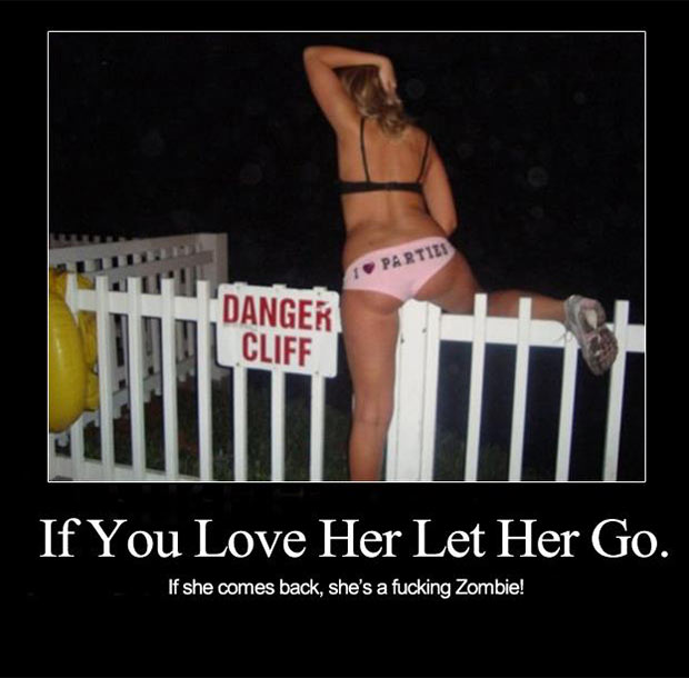 Funny Inspirational Quotes fr when your girlfriend jumps off a cliff ~~ ~Funny Pics Memes