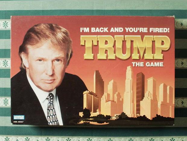 Failed board games~ Vintage Trump Apprentice Game ~ Funny pics & memes