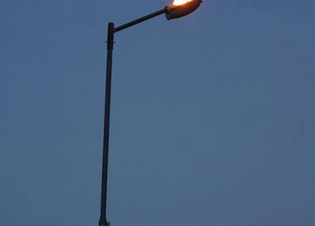 Street lights for those in heaven.