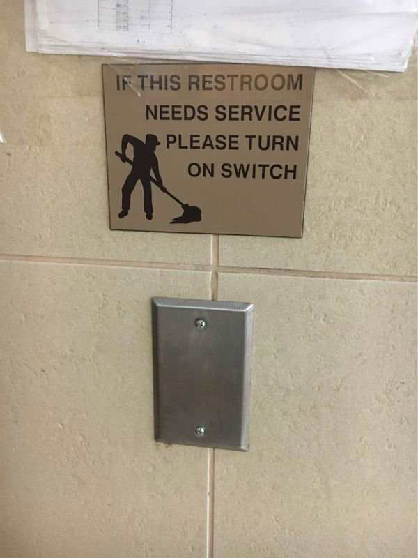 In other words, clean it yourself... One Job Fails