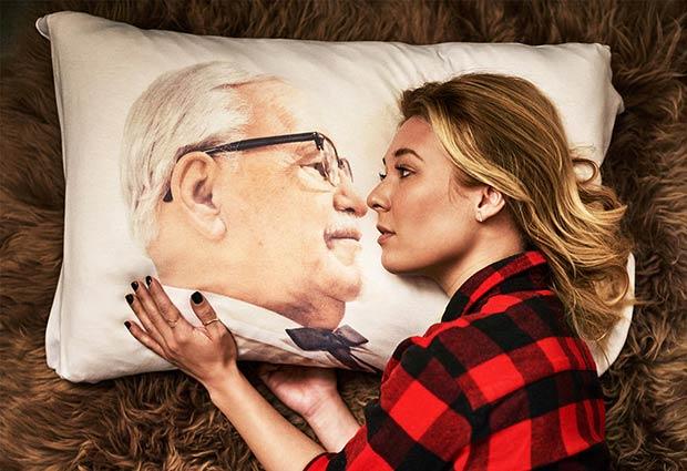 KFC creepy pillow