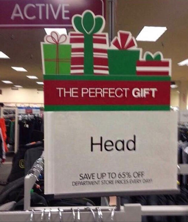 WoW! And it's not even my birthday! .. One job fails head the perfect gift
