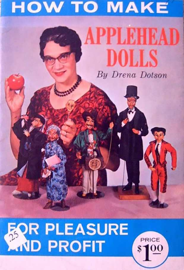 Vintage Magazine Cover ~ How to Make Applehead Dolls for Pleasure and Profit by Drena Dotson ~ Funny Pics & Memes