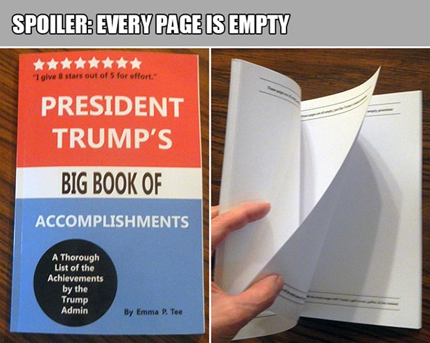 President Trump's Book of Accomplishments ~18 Best Christmas Gifts for Trump Lovers and Haters