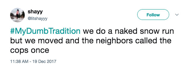 #MyDumbTradition - Wacky, funny family tradition responses to Jimmy Fallon and The Tonight Show ~ Awkward tweets!
