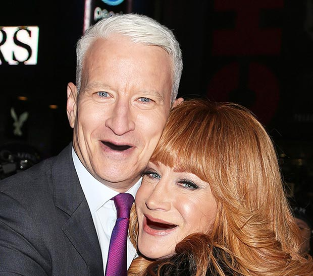 Anderson Cooper ~ Celebrities With No Teeth