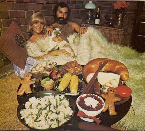 Vintage ad, 1970s swingers in bed ~ funny pics, funniest memes
