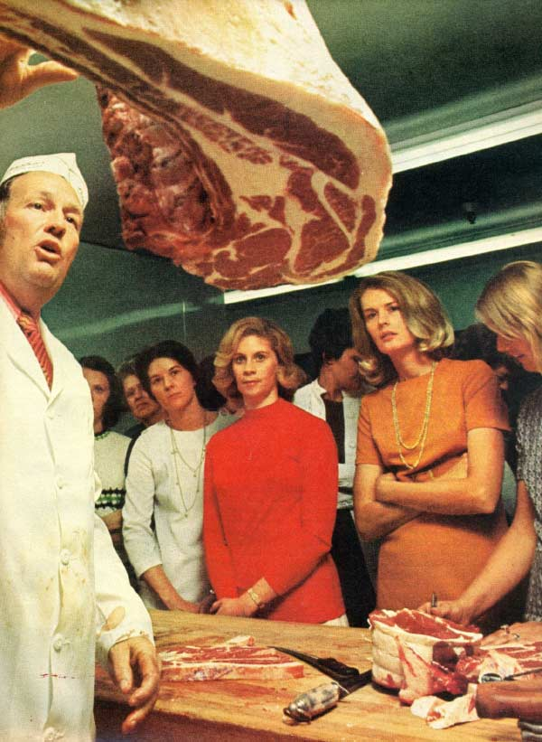All the housewives of Chesterfield County love Butcher Bob's meat. ... ~.~ funny awkward family vintage photos