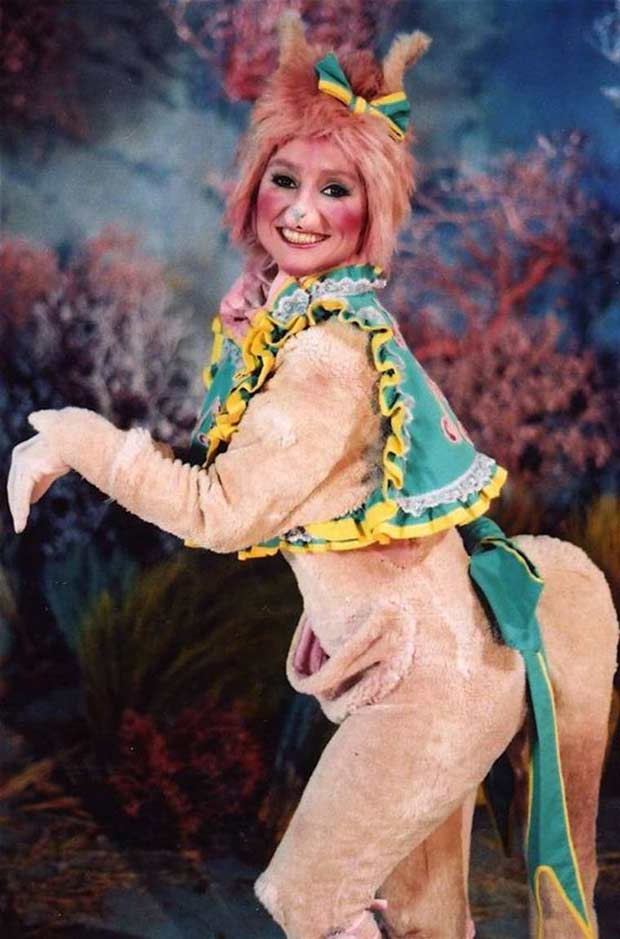 When Jackie mentioned role-playing, I never pictured this... ~.~ funny awkward family vintage pics portrait woman horse costume
