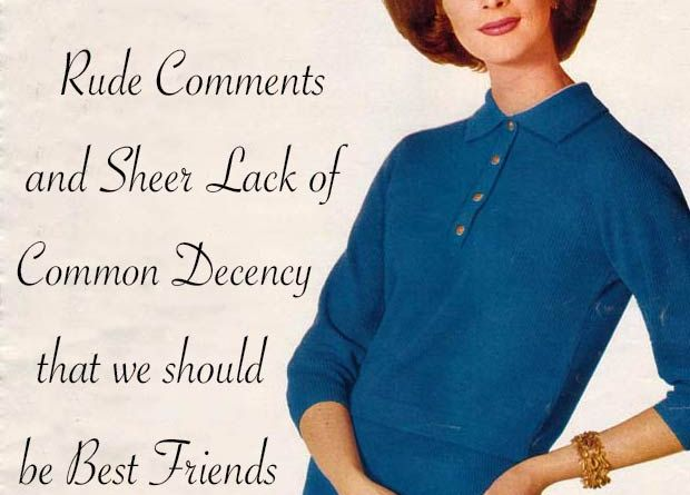 33 Funny Pics and Memes of the Day ~ 1950s sarcastic housewife memes, sayings illustrations, fashions