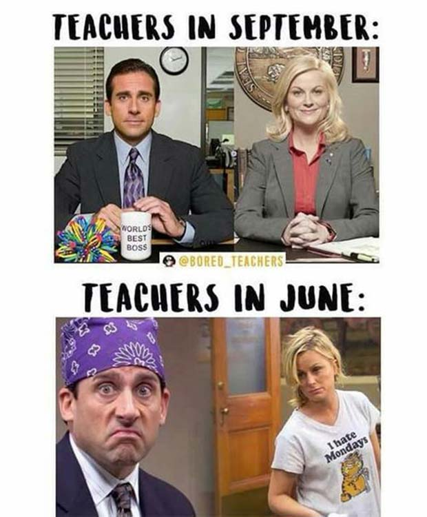 47 of the  Best Great Teacher Memes  ~ beginning and end of school year
