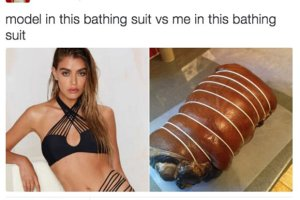 37 Things Only Women Understand ~ model in bathing suit