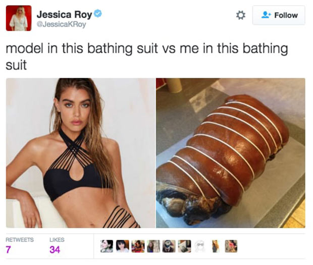 37 Things Only Women Get ~ model in bathing suit