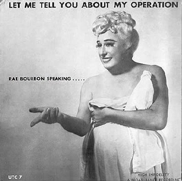 27 Bad Album Cover - The Worst of the Funny ~ Rae Bourbon Let me tell you about my operation