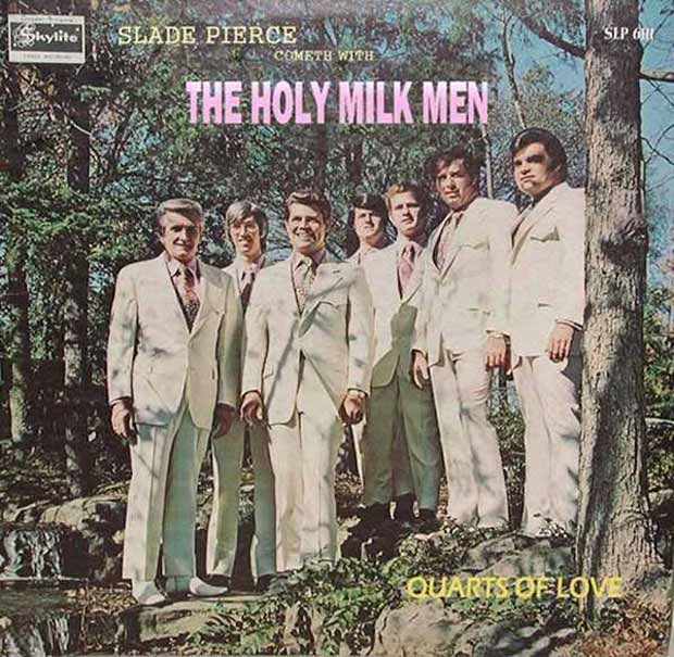 27 Bad Album Cover - The Worst of the Funny ~ Slade Pierce and the Holy Milkmen
