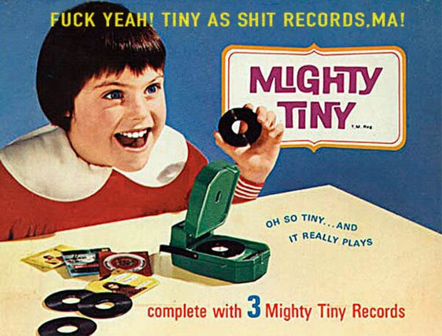~ 33 Funny Pics and Memes ~ vintage mighty tiny record player