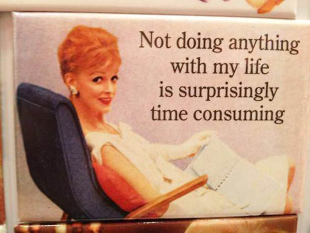 35 Funny Memes and Random Pics to Boost Your Humor Level... 1950s sarcastic housewife, doing nothing