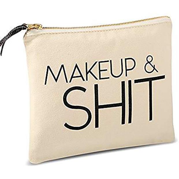 20 Hilarious Christmas Gifts for under 20 Hilarious Christmas Gifts for Under $2020 – Makeup bag