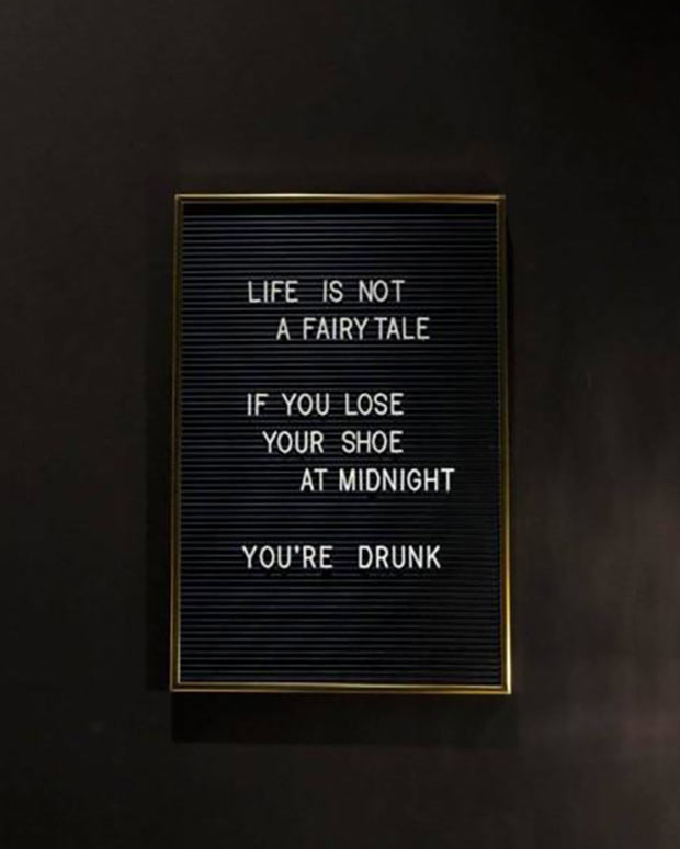 33 Funny Memes, Pics and Random Humor ~ life is not a fairy tail. If you lose your shoe at midnight you're drunk