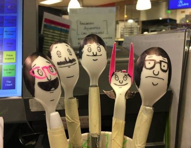 33 Funny Memes, Pics and Random Humor ~ Bob's Burgers characters made with plastic spoons