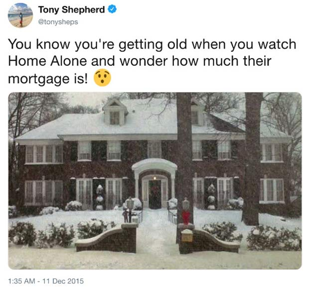 25 Things People Under Age 20 Don't Understand ~ home alone