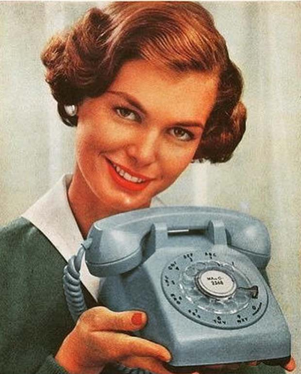 35 Funny Memes and Random Pics to Boost Your Humor Level... vintage ad dial telephone