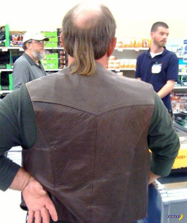 33 Best Memes and Funny Pics Laced with Humor! ~ bald man mullet