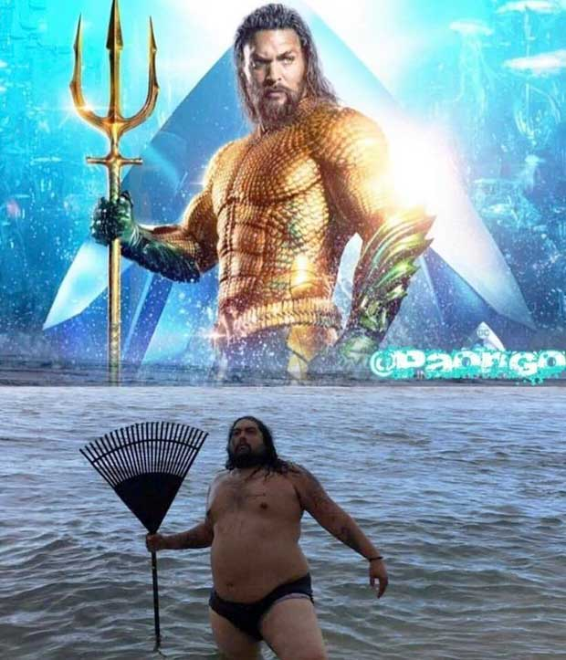 33 Funniest Memes and Pic to Get Your Laugh On ~ nailed it Aquaman Jason Momoa