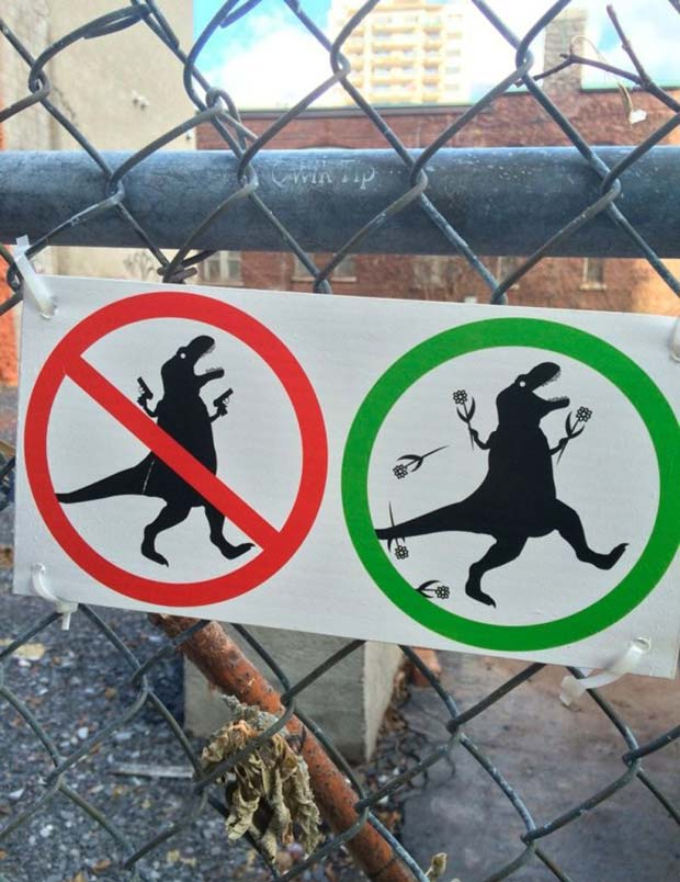 33 Funniest Memes and Pic to Get Your Laugh On ~ T-rex flowers, funny signs