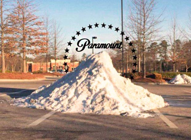 33 Funniest Memes and Pic to Get Your Laugh On ~ paramount pictures logo snow pile