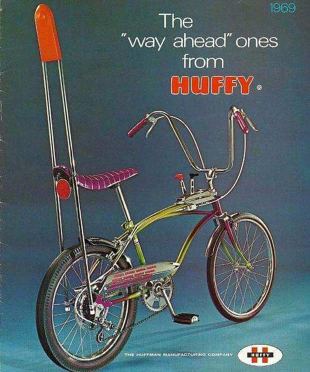 33 Funniest Memes and Pic to Get Your Laugh On ~ vintage Huffy Stingray ad, bikes 1970s