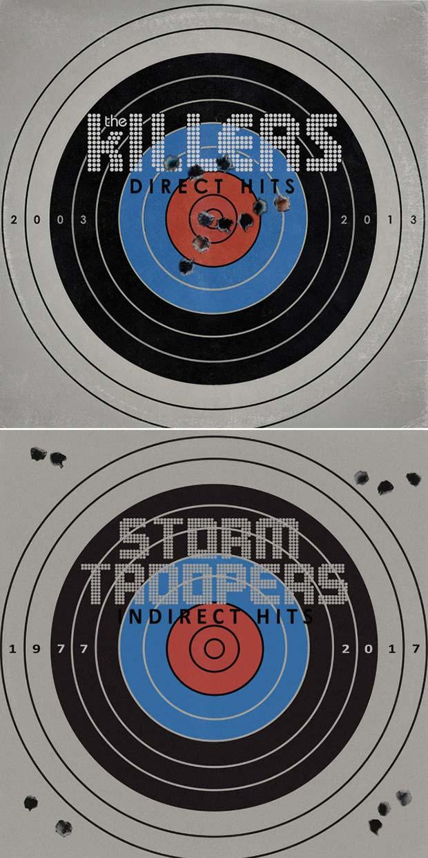 28 Star Wars ~ Classic Album Covers Mash-ups That ROCK! ~ The Killers