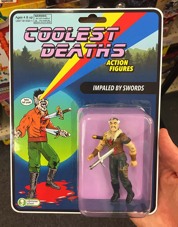 31 Hilarious Fake Toys Planted in Stores ~ coolest deaths action figures