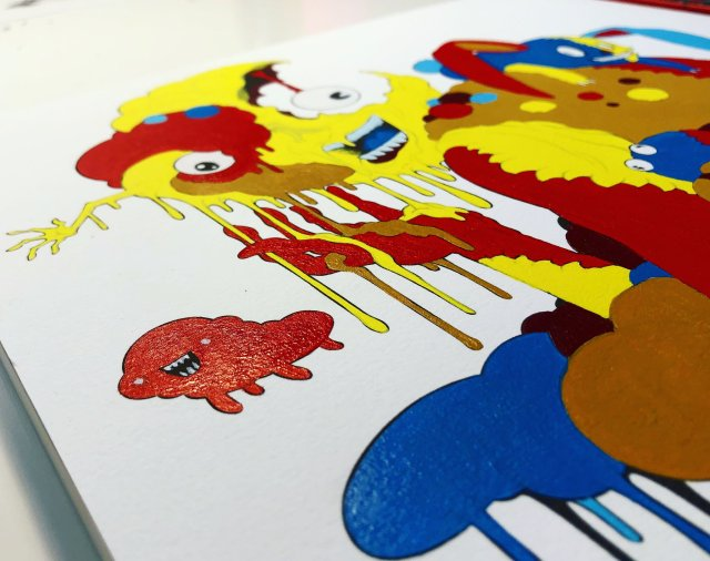 Friday in Las Vegas 9thGallery hosts Alex Pardee