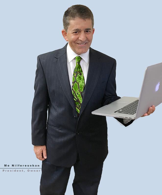 President Mo Nilforoushan