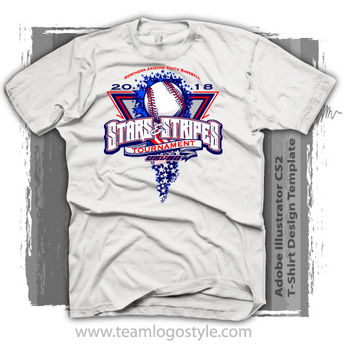 July 4th Baseball Shirt