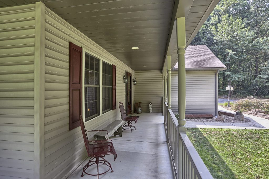 204 Black Oak Road - Front Porch View 2