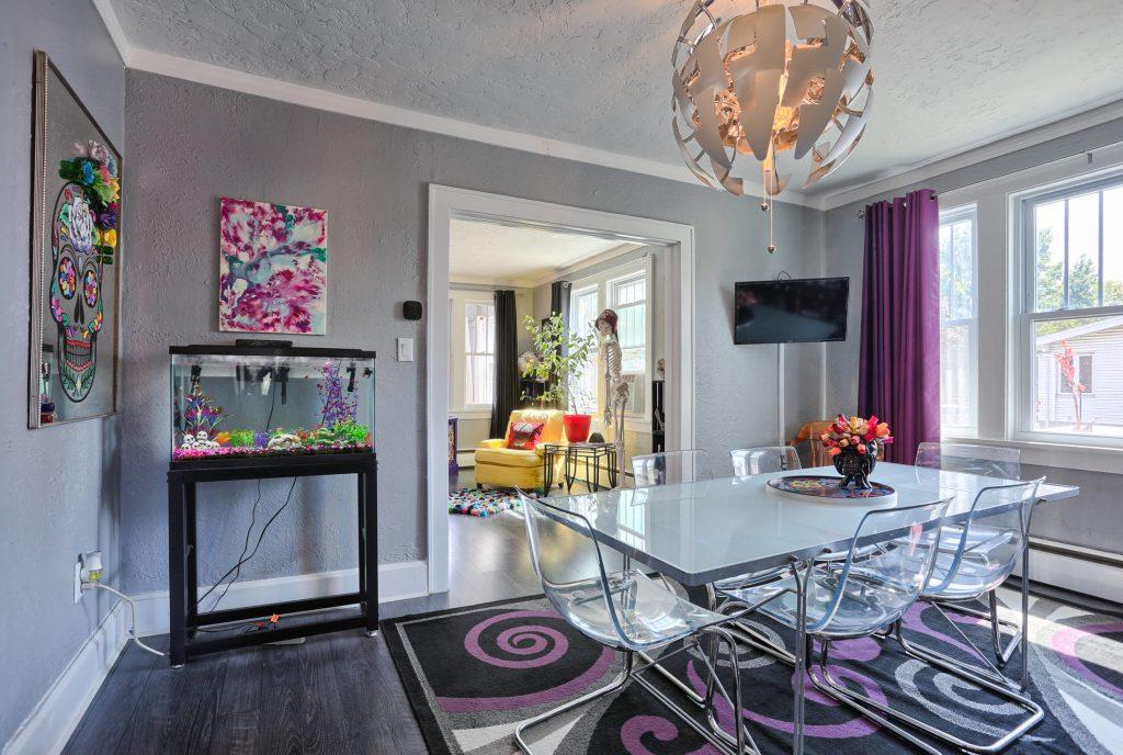 Dining Room/view of Living Room - 3700 N. 2nd Street