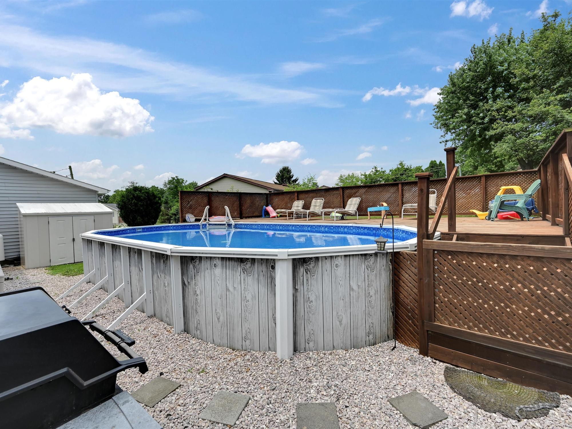 1617 Greenwood Dr. - pool view 1